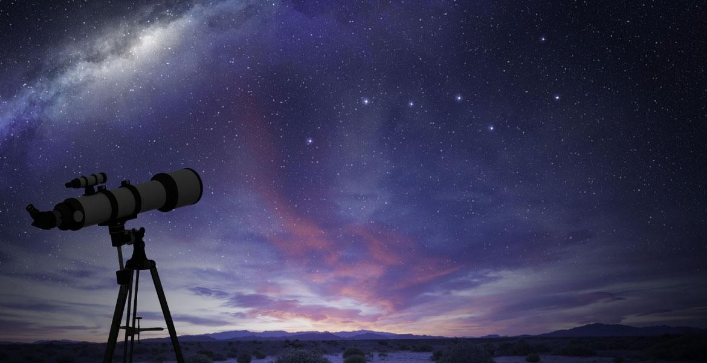 finding stars using telescope