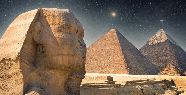 Egyptian pyramids and astronomy
