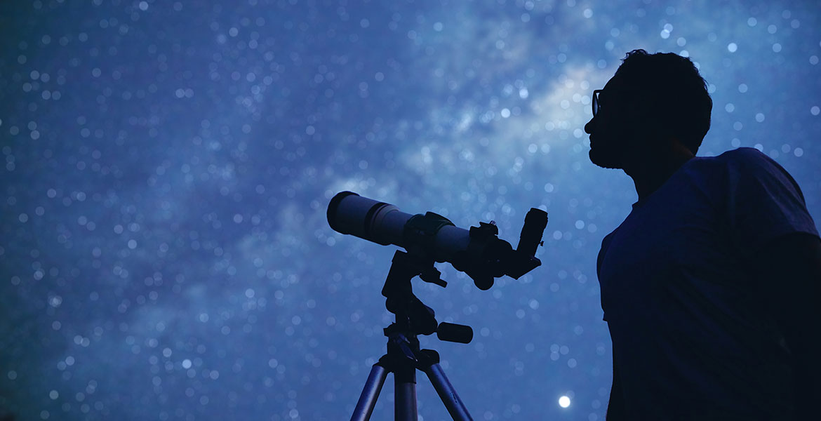 Finding Andromeda Constellation