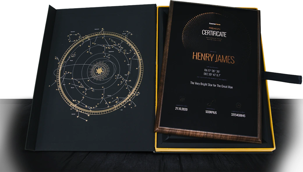 Star Naming Gift Package